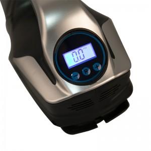 21256D, 4 in 1 12V car vacuum cleaner with Digital air compressor & light